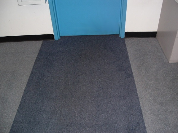 commercial carpet cleaning demo after